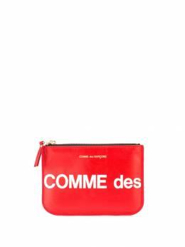 Comme Des Garcons Play кошелек на молнии с логотипом P1T100