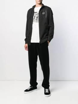 Philipp Plein - спортивная куртка на молнии CMJB9335PJO660N95333