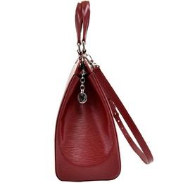 Louis Vuitton Red Epi Leather Brea GM Bag 215040
