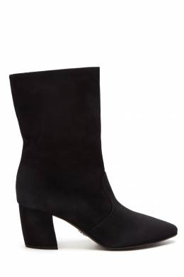 Черные замшевые сапоги Prada 40144380