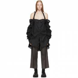 Ann Demeulemeester Black Ola Shirt 192378F10900302GB