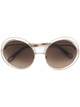 Chloe Eyewear солнцезащитные очки 'Carlina' CE114SD