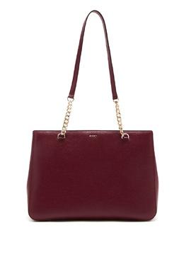 Бордовая сумка-тоут DKNY 1117149121