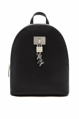 Черный рюкзак с подвеской DKNY 1117149118