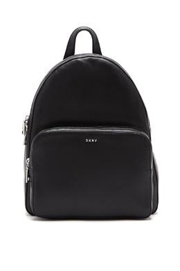Черный рюкзак с карманом DKNY 1117149117