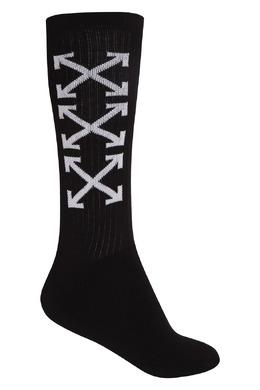 Черные носки с логотипами Off-White 2202150839