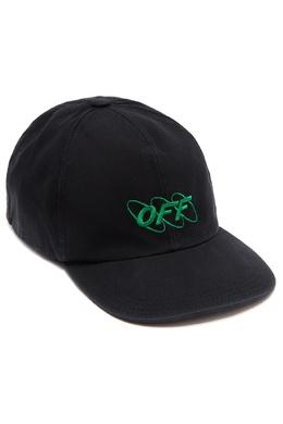 Черная бейсболка с логотипом Off-White 2202150837