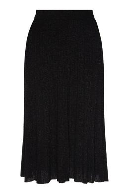 Черная плиссированная юбка DKNY 1117149004
