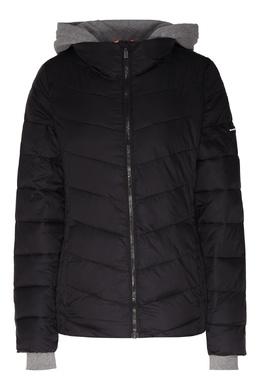 Черная стеганая куртка DKNY 1117149021
