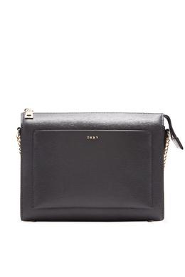 Зеленая прямоугольная сумка-кроссбоди DKNY 1117149156