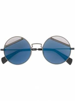 Yohji Yamamoto солнцезащитные очки с затемненными стеклами YY7029