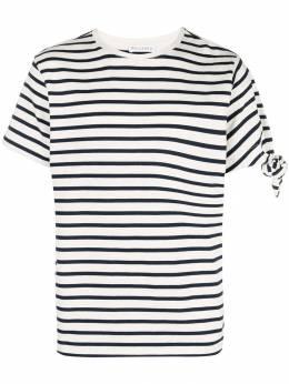 J.W. Anderson полосатая футболка JE02518F