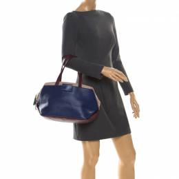 Marc By Marc Jacobs Multicolor Leather Sheltered Island Satchel 221805