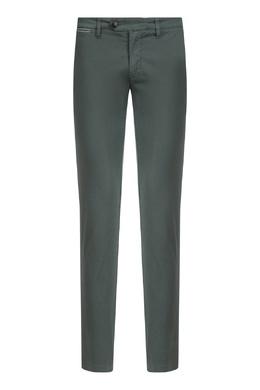 Прямые темно-зеленые брюки Eleventy 2014150212