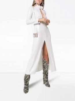Attico - платье миди с пайетками WCA93M66366995639908