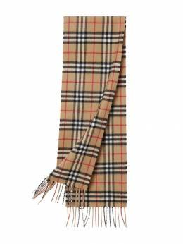 Burberry Kids - кашемировый шарф в клетку Vintage Check 59609538558300000000