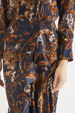 Платье с цветами и животными Johanna Ortiz 2942150645