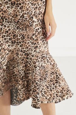 Леопардовое платье Love Between Species Johanna Ortiz 2942150651