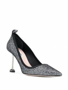 Miu Miu - блестящие туфли-лодочки 55CF6853KTD935983390