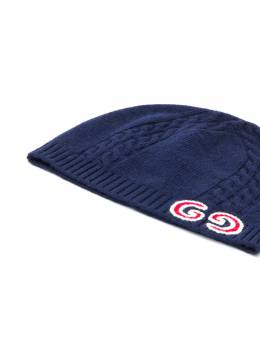 Gucci Kids - шапка бини с логотипом GG 3395K066955589530000
