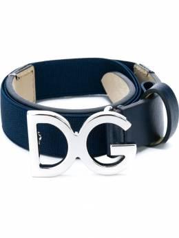 Dolce&Gabbana Kids - ремень с логотипом на пряжке 666AF590906906050000