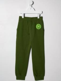 Fendi Kids - спортивные брюки с логотипом 0995V695569633000000