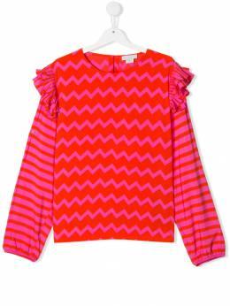 Stella McCartney Kids - блузка с принтом 960SNKA9955303560000