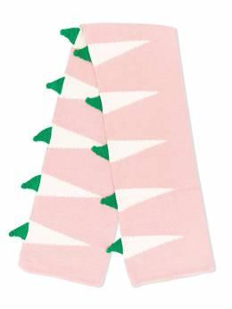 Stella McCartney Kids - шарф с геометричным узором 333SNM98955335660000