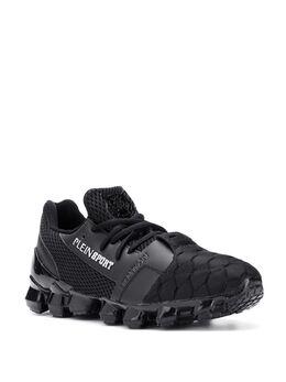 Plein Sport - logo sock sneakers C9369SXV669N93983508