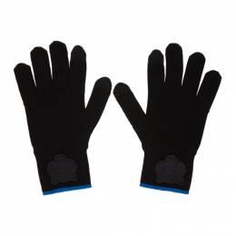 Kenzo Black Tiger Crest Gloves 192387M13500101GB