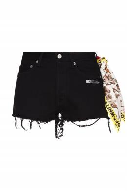 Черные шорты с платком Off-White 2202148912