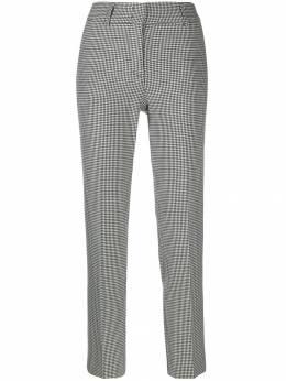 Piazza Sempione - брюки строгого кроя в ломаную клетку 95P6S330995035390000