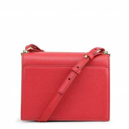 Love Moschino Pink Pebbled Synthetic Leather Studded Shoulder Bag Raymond Weil 224228