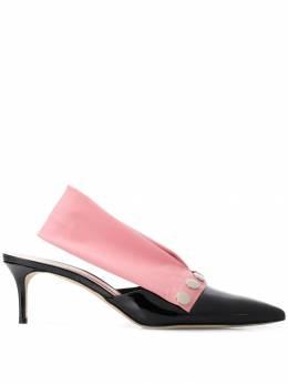 Christopher Kane туфли с ремешком на пятке 577617U0158