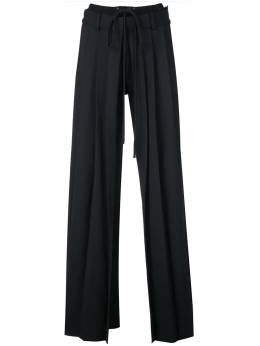 Vera Wang - брюки строгого кроя со складками 9P099556695000000000