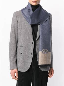 Salvatore Ferragamo - шарф с декором Gancini 59563935399558995600