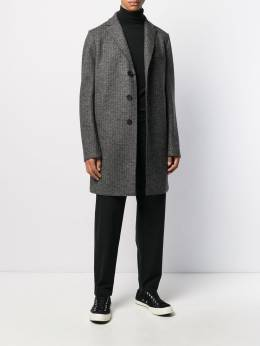Harris Wharf London - однобортное пальто миди 69MGG955699600000000