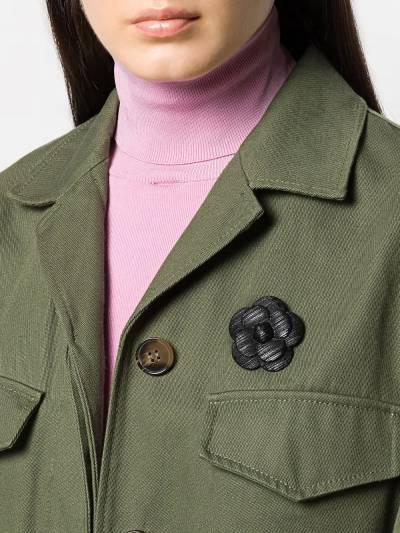 Chanel Pre-Owned - брошь 2000-х годов в виде цветка NE986955695580000000 - 2