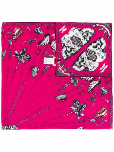 Alexander McQueen платок с принтом 5949123820Q - 1