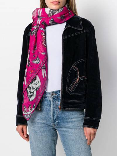 Alexander McQueen платок с принтом 5949123820Q - 2