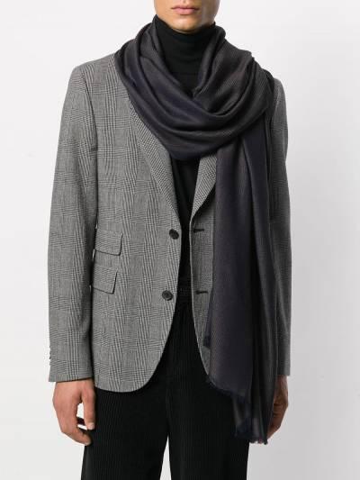 Salvatore Ferragamo шарф с декором Gancini 5275930713408 - 2