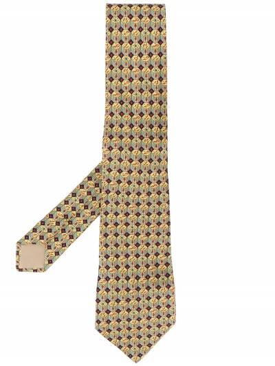 Hermès Pre-Owned шарф 2000-х годов с геометричным принтом HERME180BO - 1