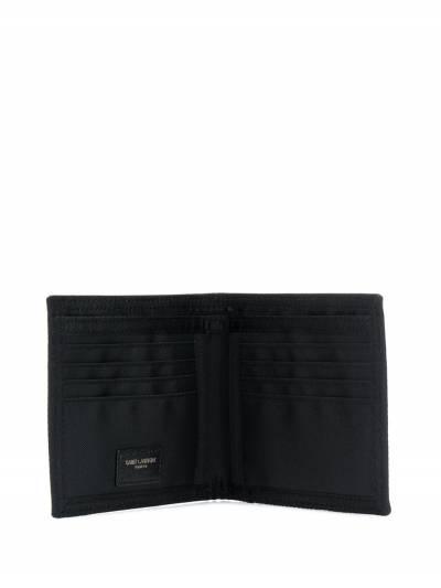 Saint Laurent складной бумажник с логотипом 588191HO23Z - 3