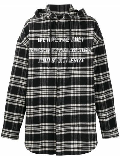 Juun.J куртка-рубашка с капюшоном JC9X64P145 - 1