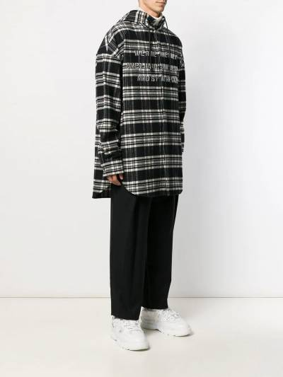Juun.J куртка-рубашка с капюшоном JC9X64P145 - 3