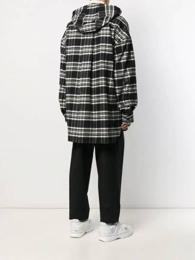 Juun.J куртка-рубашка с капюшоном JC9X64P145 - 4
