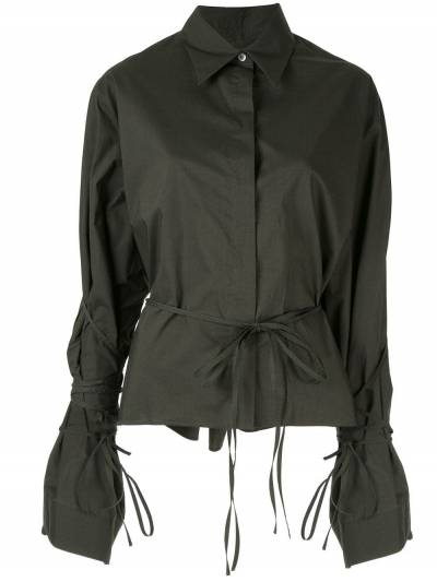 Mm6 Maison Margiela - рубашка на пуговицах с длинными рукавами DL6695S5309595566356 - 1