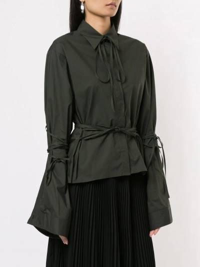 Mm6 Maison Margiela - рубашка на пуговицах с длинными рукавами DL6695S5309595566356 - 3