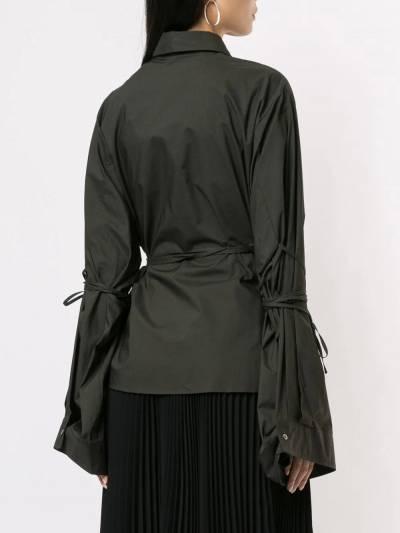 Mm6 Maison Margiela - рубашка на пуговицах с длинными рукавами DL6695S5309595566356 - 4