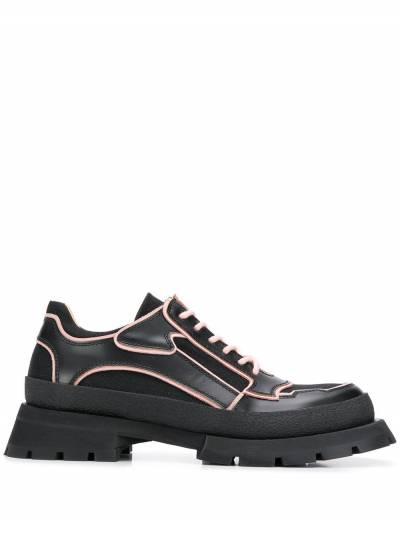 Jil Sander - туфли на массивной подошве 3596A966339555056900 - 1